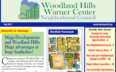 2017 Newsletter – Changes are coming to Woodland Hills